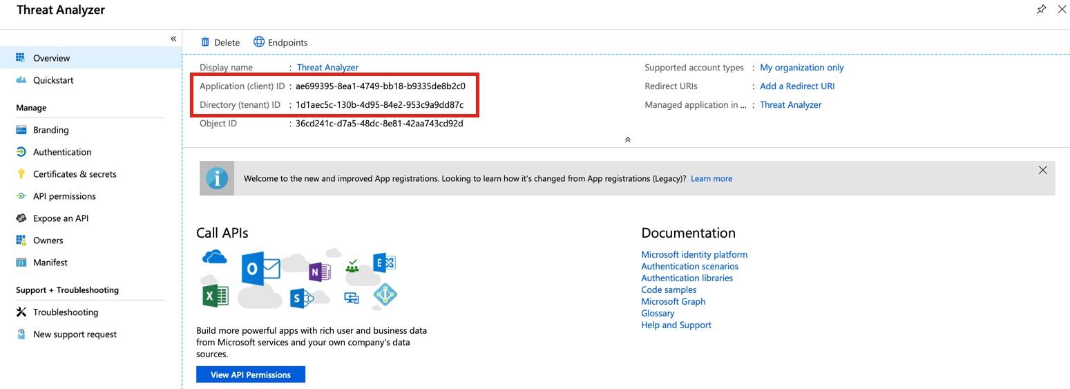 Microsoft Azure Application Creation (On-Prem)