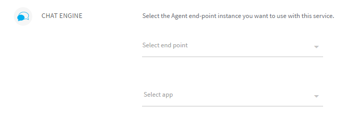 Figure 5: Select agent end-point instance