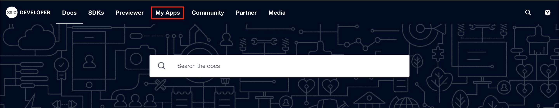 Xero - Developer Home. Click to Expand.