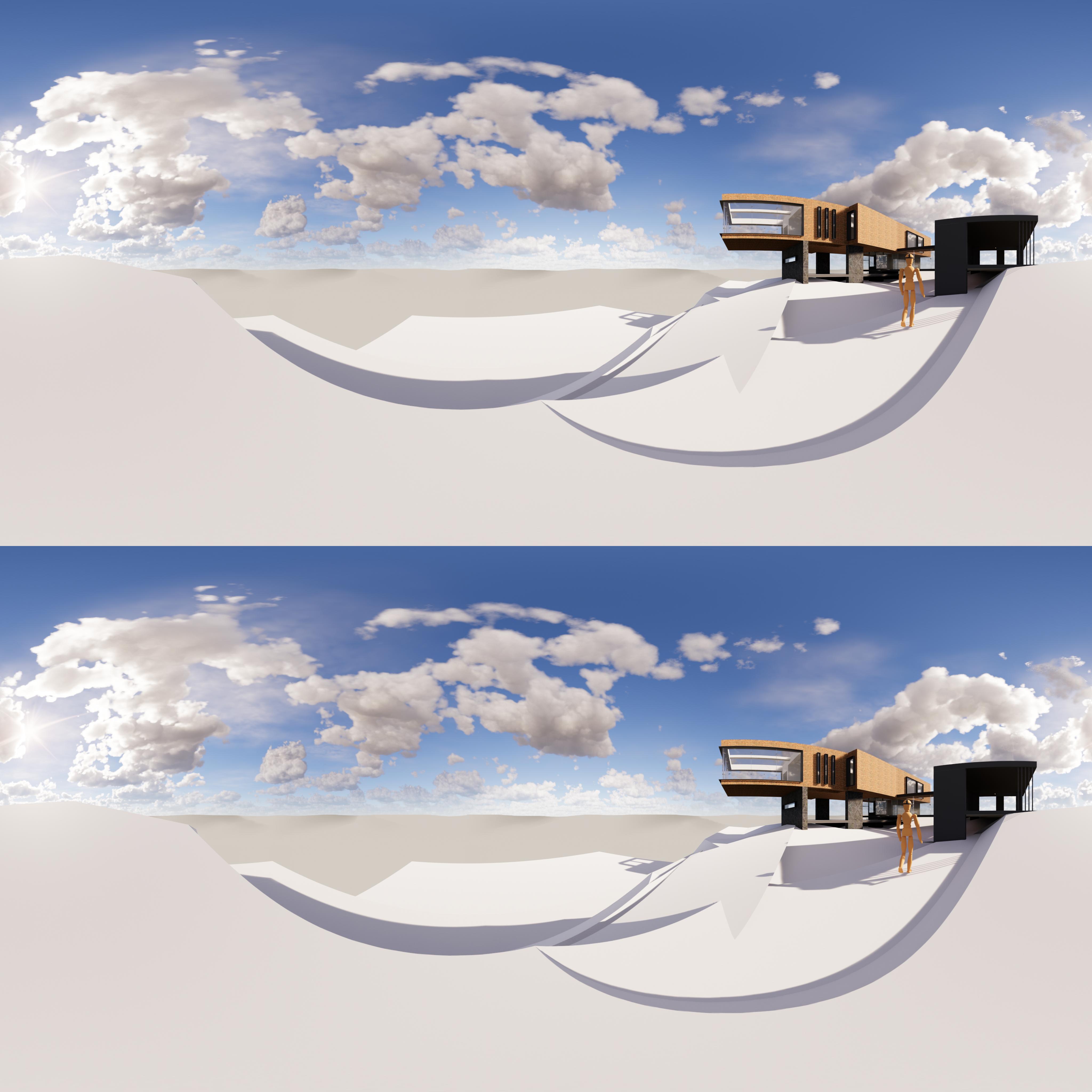 Arriba + Abajo stereoscopic