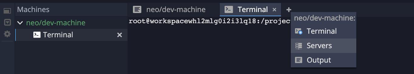 Show application urls