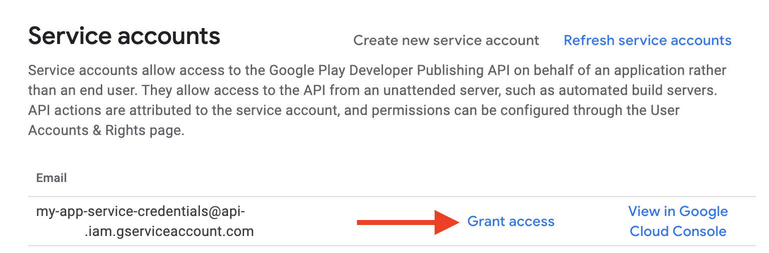 This is in the Google Play Console.