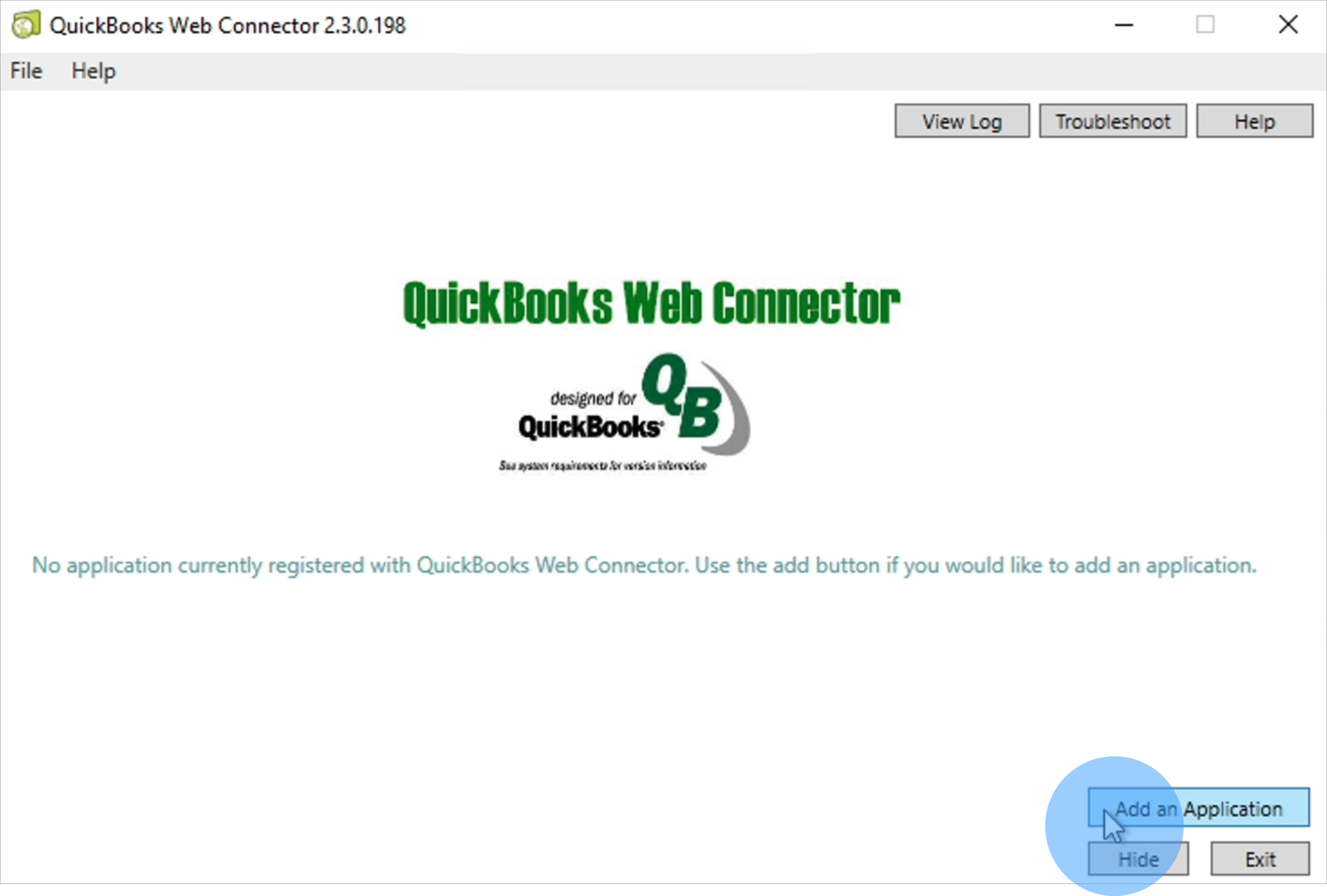 Railz Connect - QuickBooks Desktop Configure connector. Click to Expand.