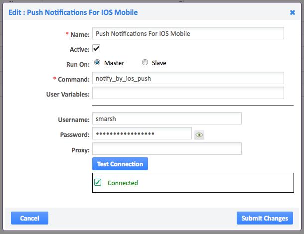 Pusher push notifications ios