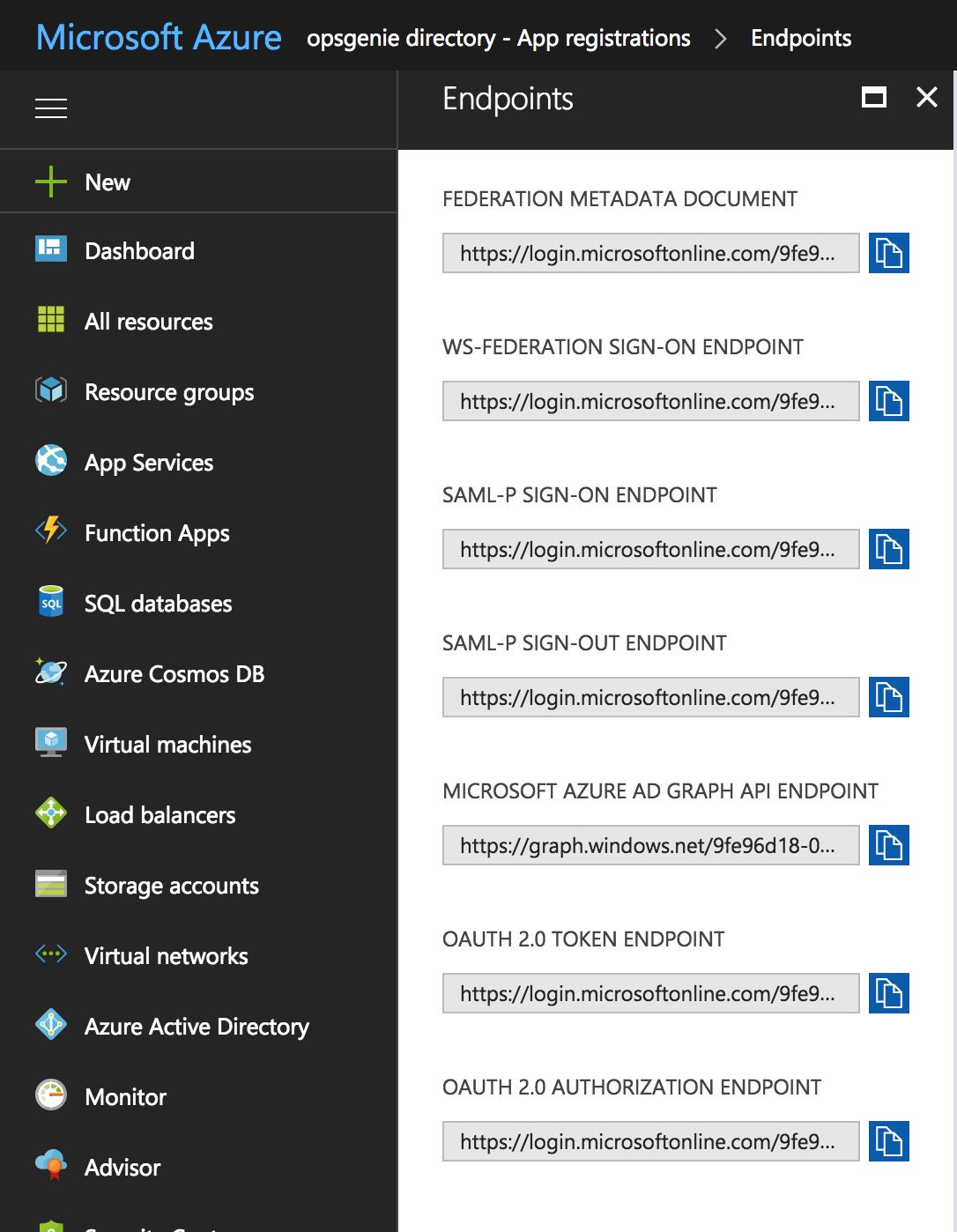 Azure Active Directory SSO