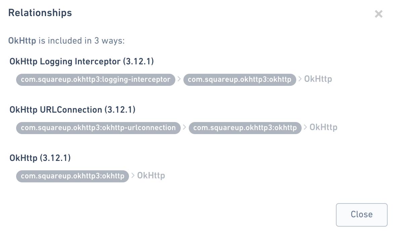 Dependencies Browser
