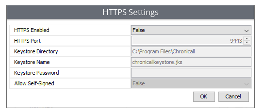 Adding a Certificate to Chronicall for HTTPS