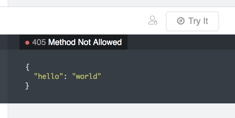Swagger Can't See Response JSON