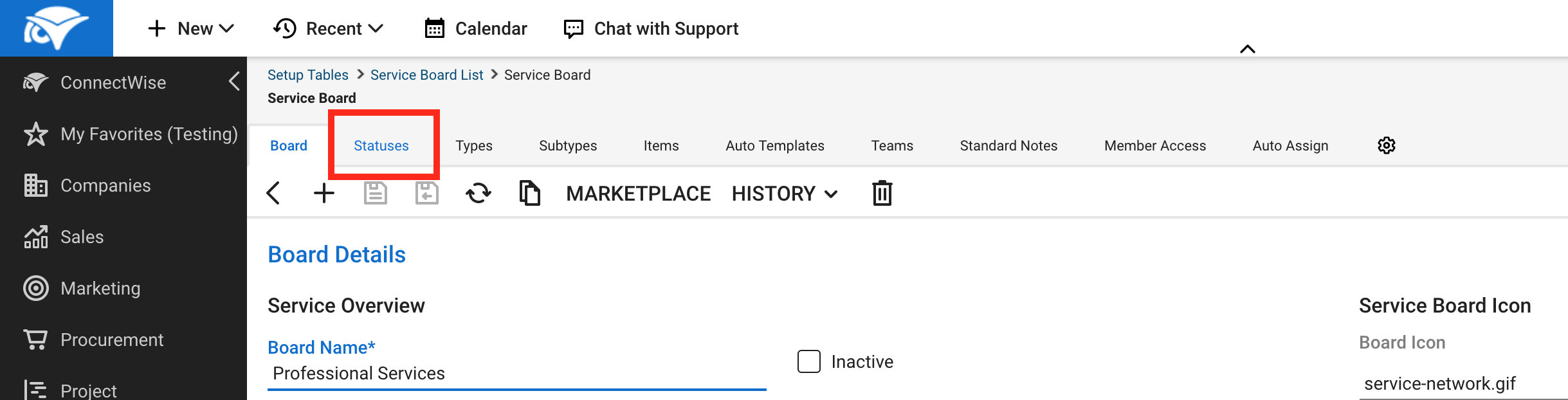 ConnectWise Manage Integration