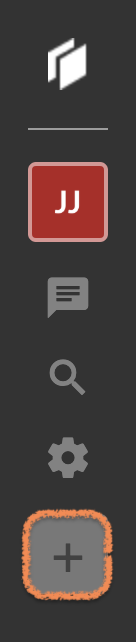"""""""Create new project"""" button."""