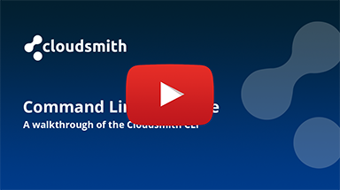 A Walkthrough of the Cloudsmith CLI