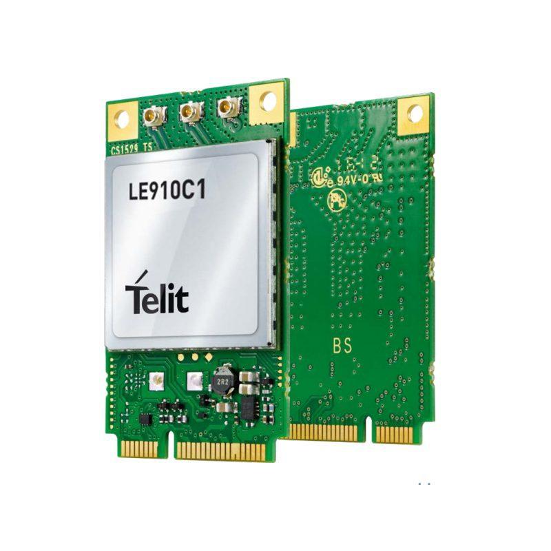 Internet Connection with Telit LE910C1 module using ECM Mode