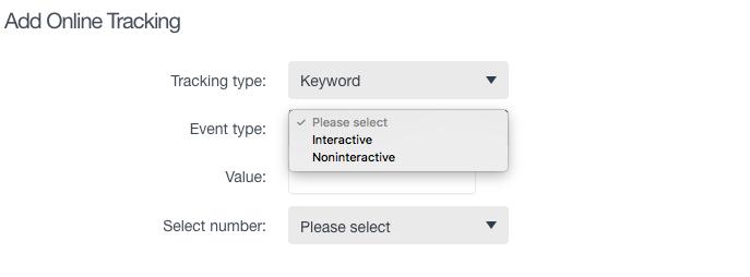 Choose between interactive and non-interactive