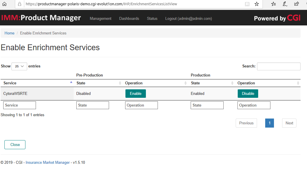 Enable Cytora Enrichment in Product Manager