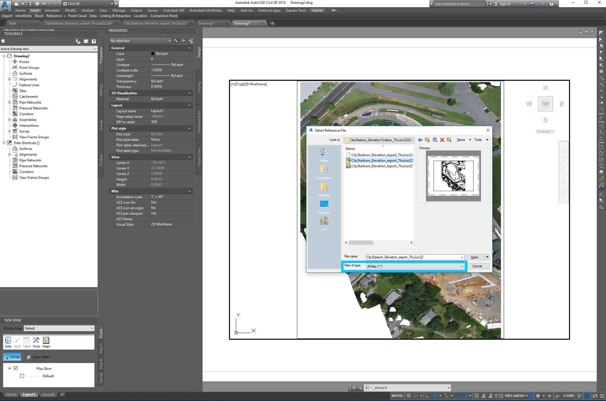 Contour Line Drawing In Autocad : Autocad civil d online courses classes training tutorials on