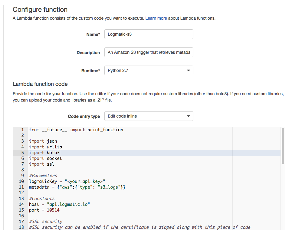 aws lambda documentation