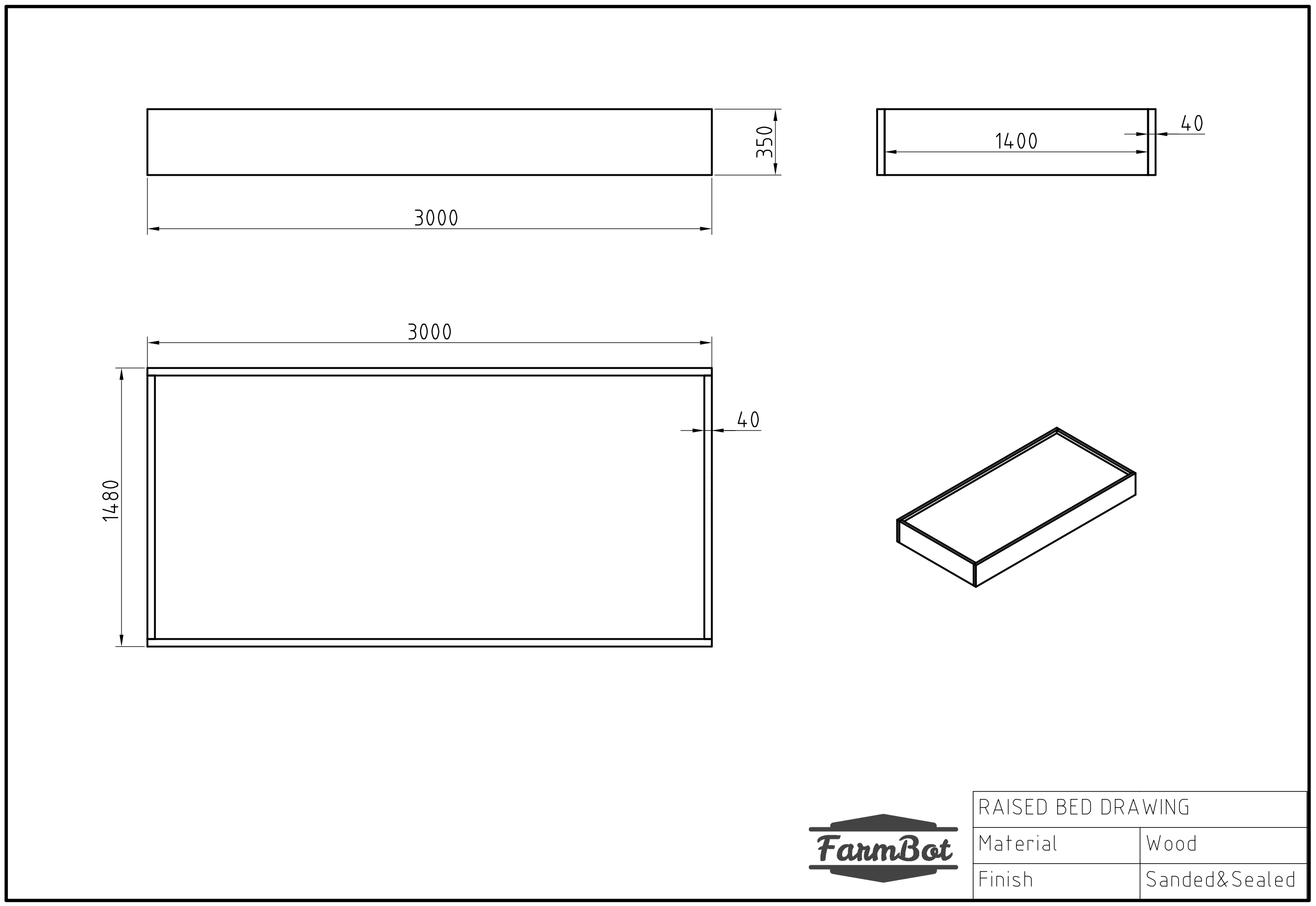 Bed Dimensions.Building A Fixed Raised Bed
