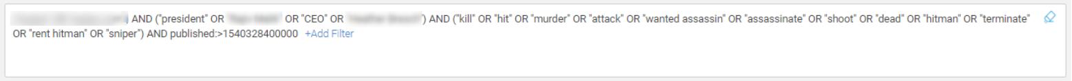 Threat found via constant monitoring