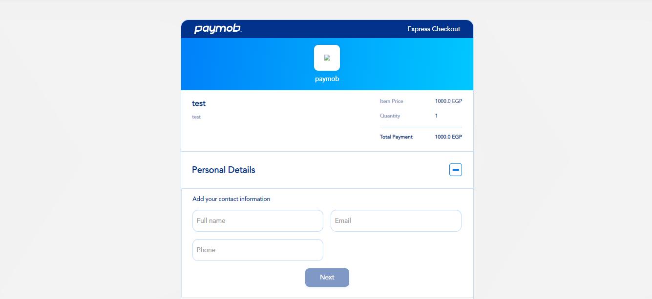 Accept dashboard - Product billing data.