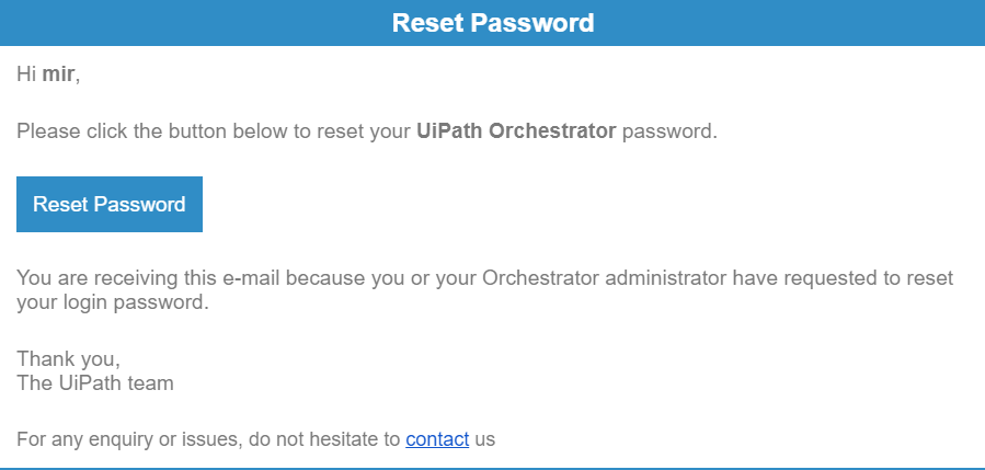 password resetter name is not defined