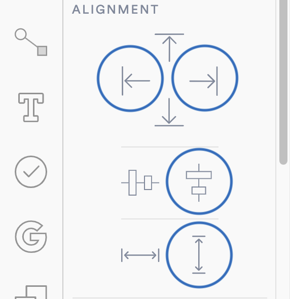 Vertical alignments