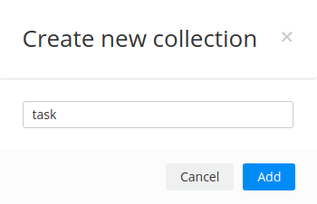 Create task collection