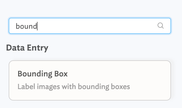 Searching for the `BoundingBox` component on the right hand side.