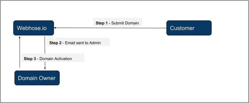 Domain authorization process