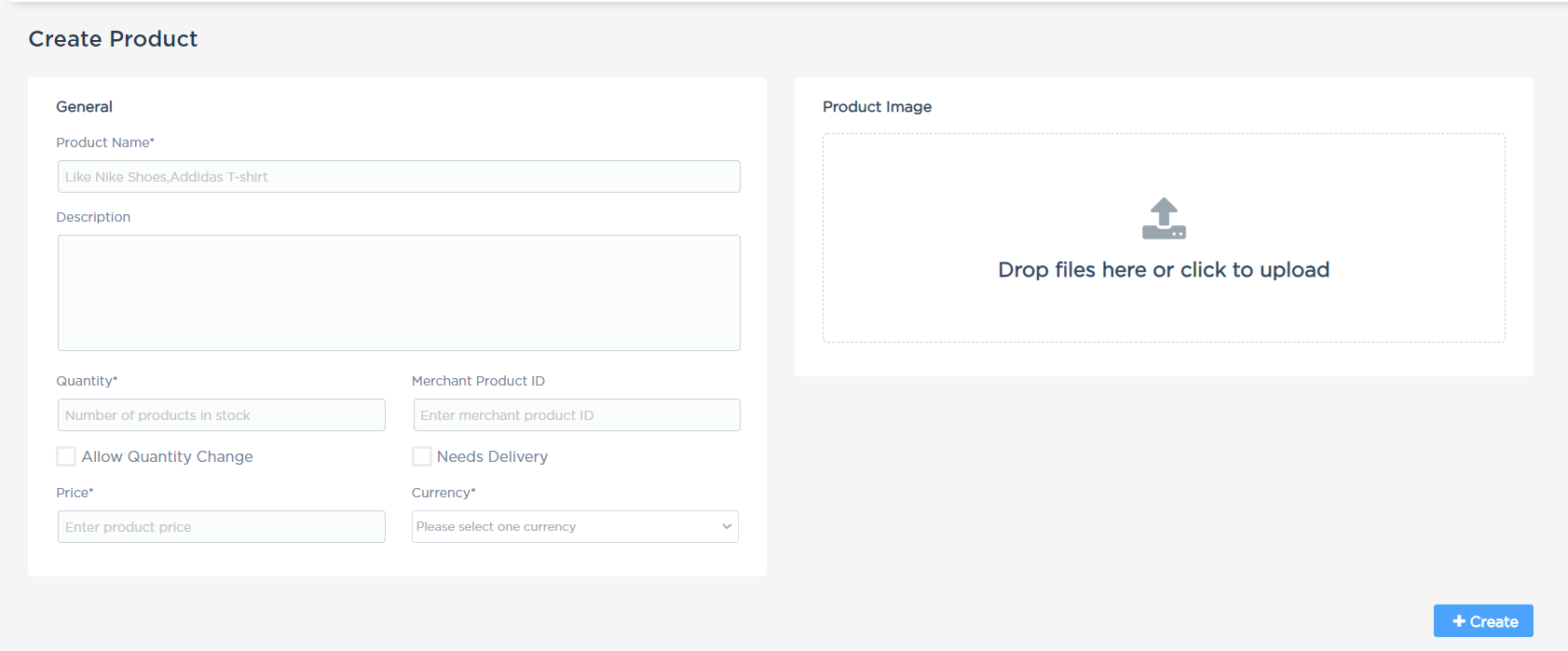 Accept dashboard - Product Summary.