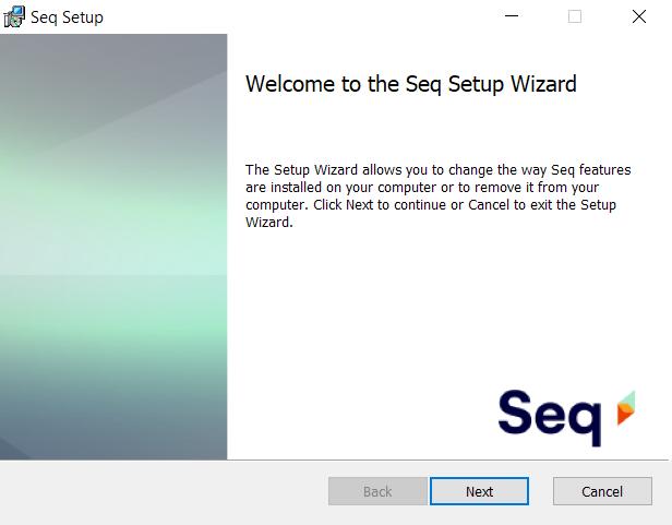Seq Setup Wizard