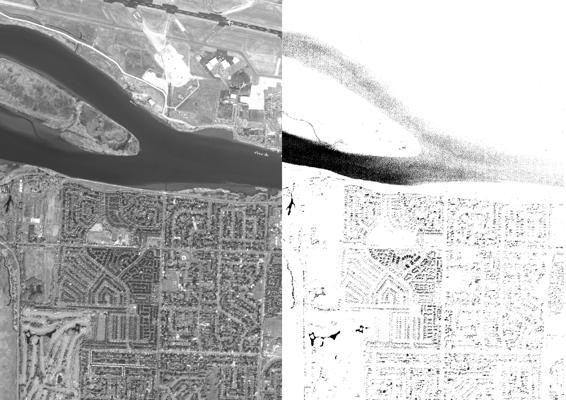 Before: WorldView 3 Pan imagery