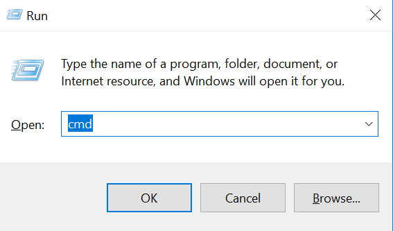 How to get IP:Port format on windows - open command line