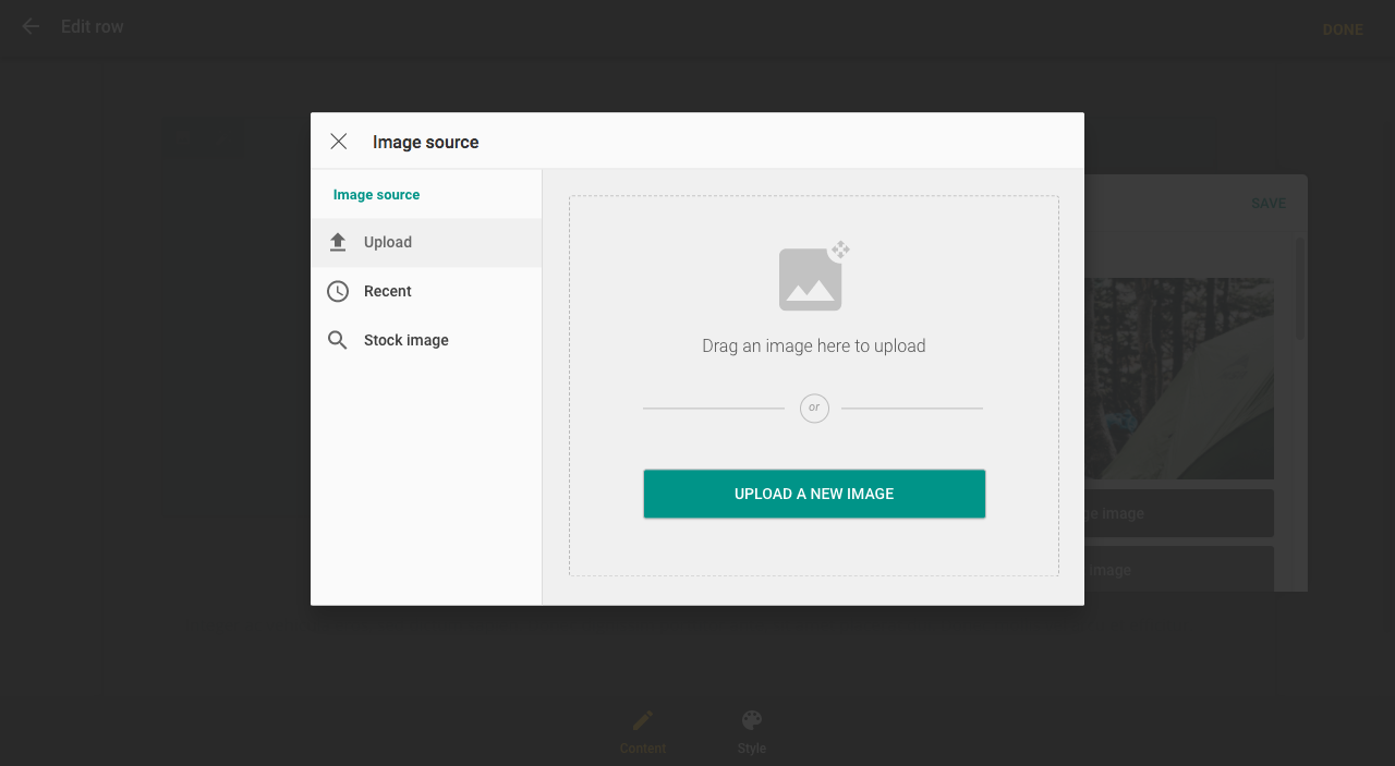 Select an image to upload