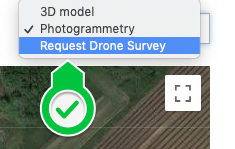 Select Request Drone Survey