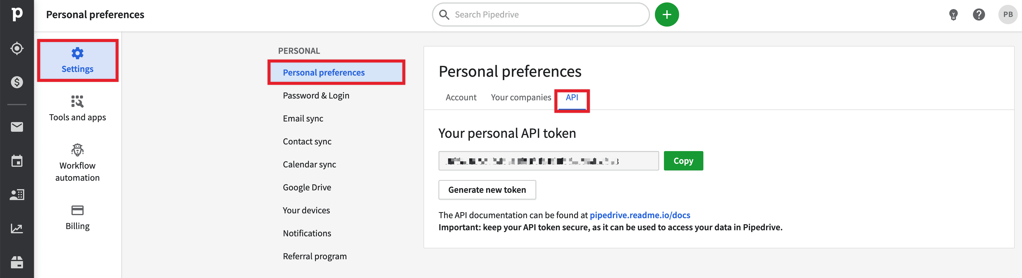 Disclaimer: Never disclose your real API token!