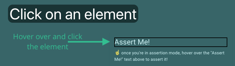 asserting on a page element