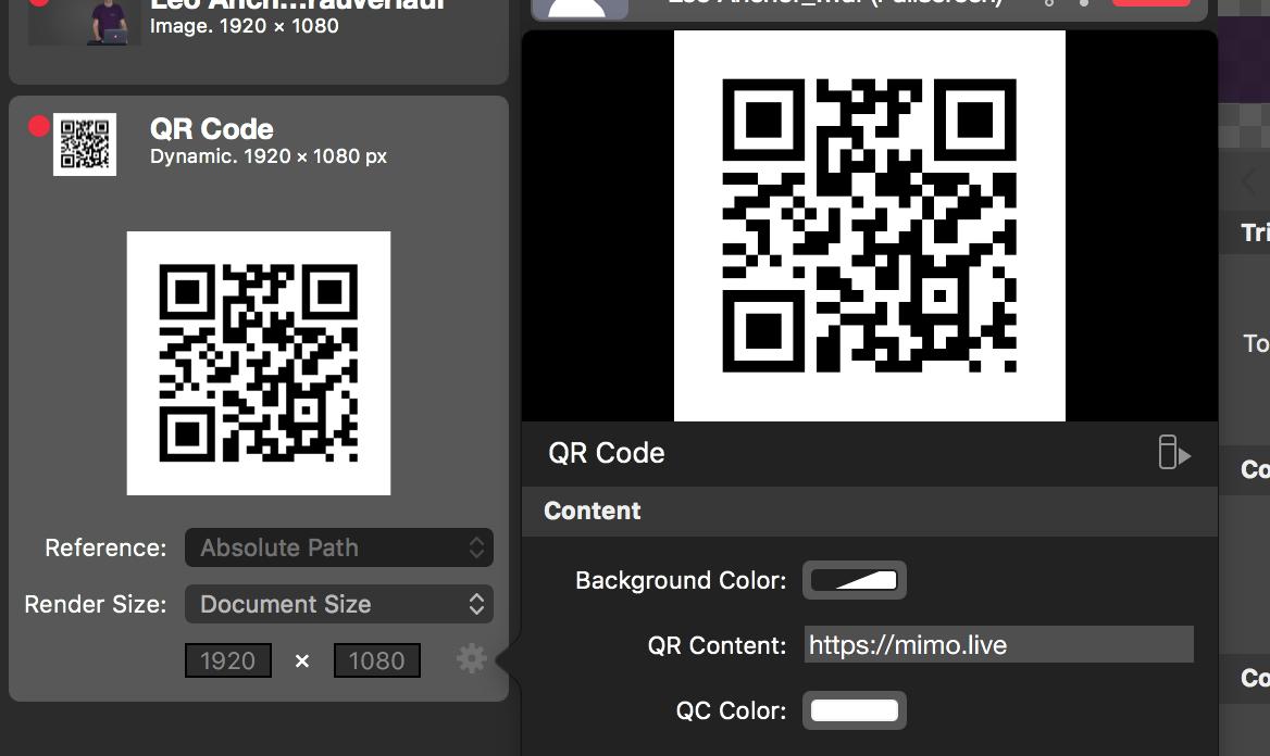 QR Code Source