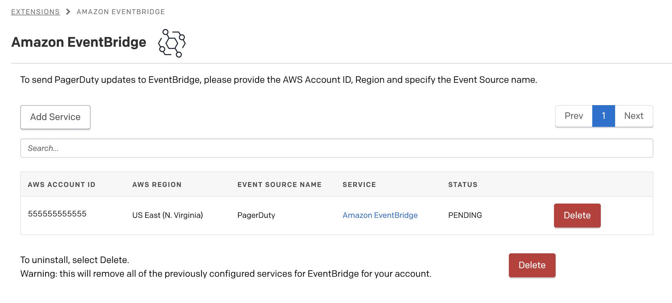Amazon EventBridge Integration Guide | PagerDuty