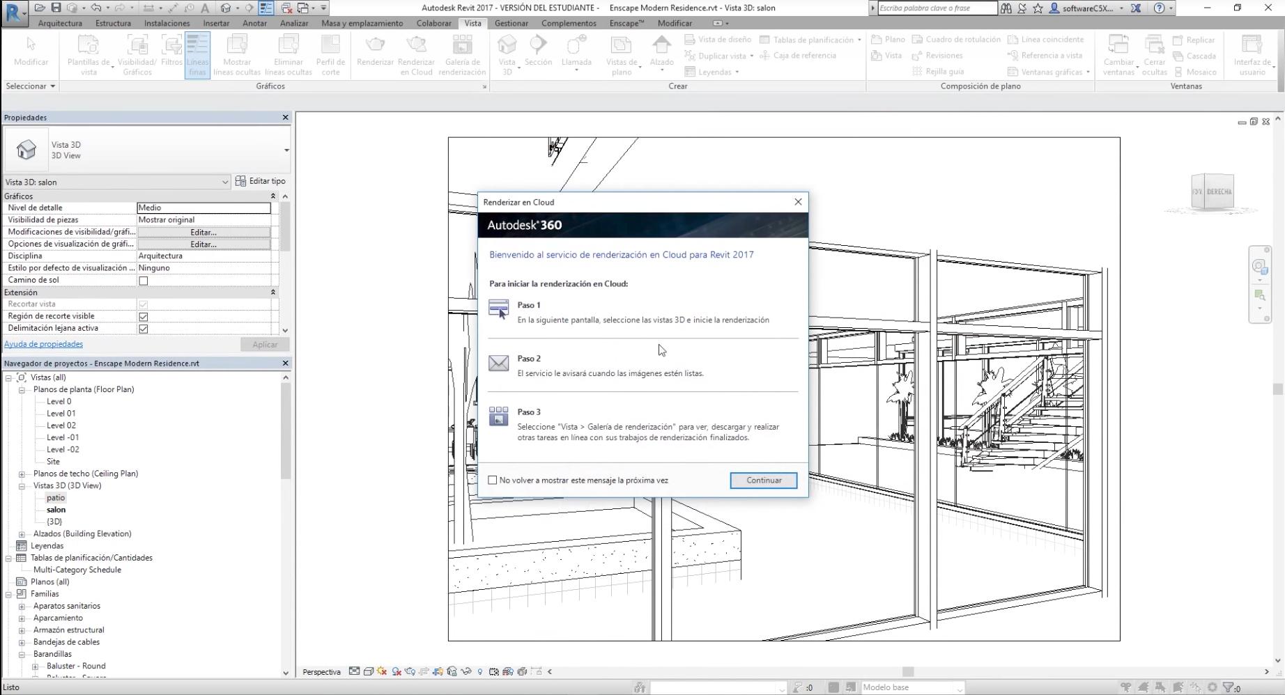 360 images using Autodesk Revit
