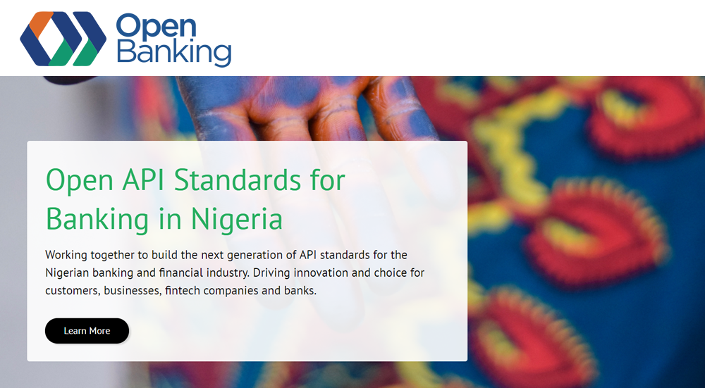 Open Banking Nigeria Website.