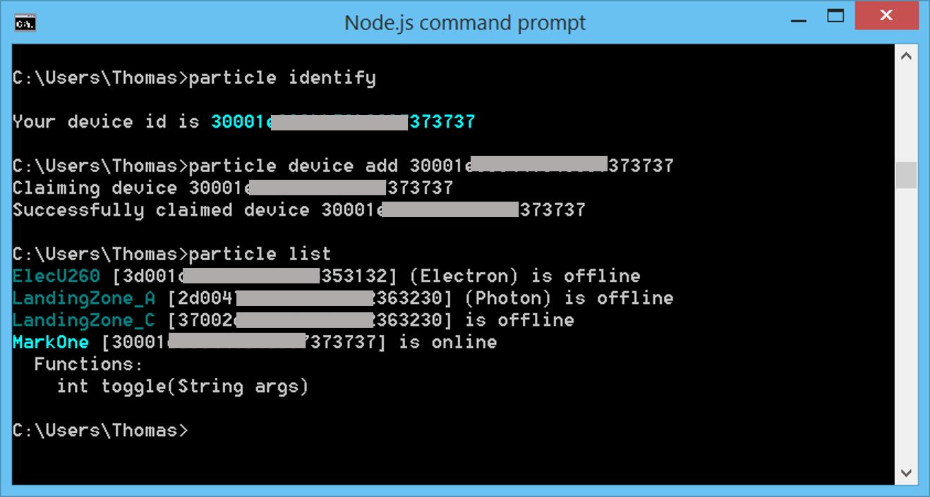 Sensor Output on Linux via Python · IRLOCK