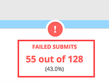 Failed submit #