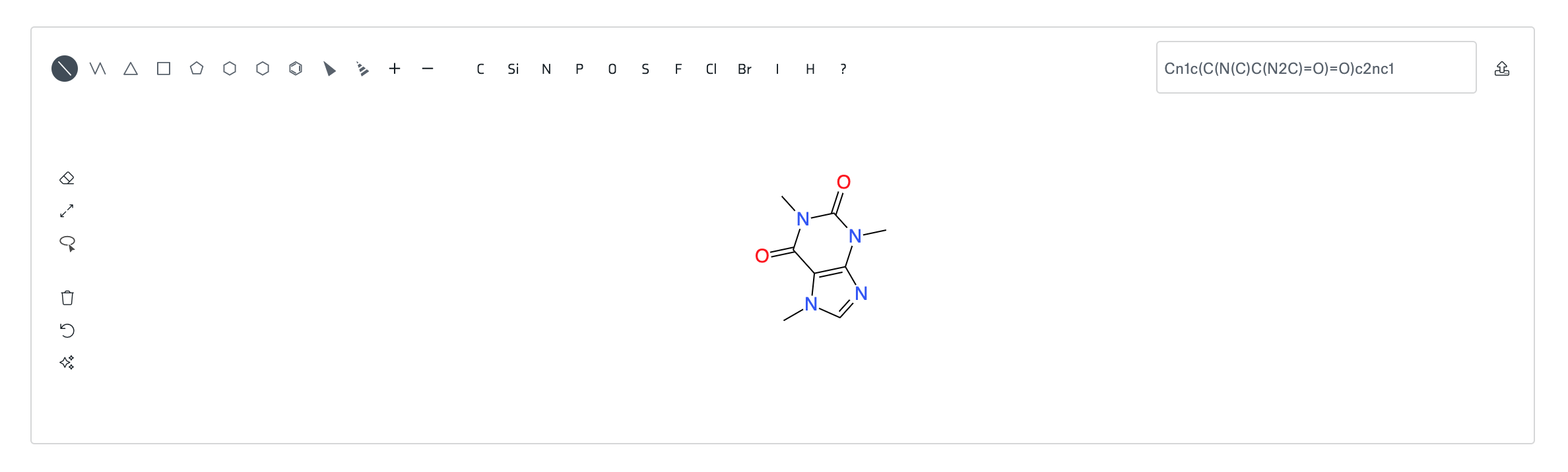 Strateos Molecule Sketching Tool