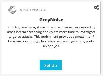 GreyNosie Enrichment Integration within ThreatStream