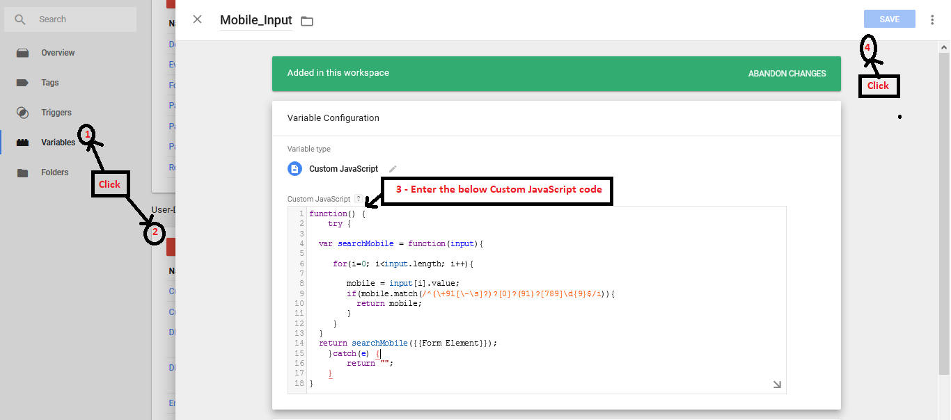 Add Smartech Javascript to your Website