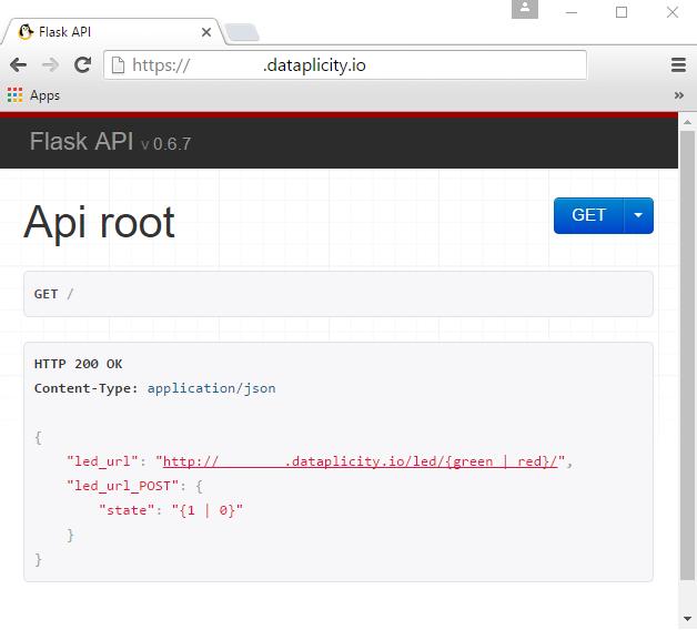 Testing REST API in browser