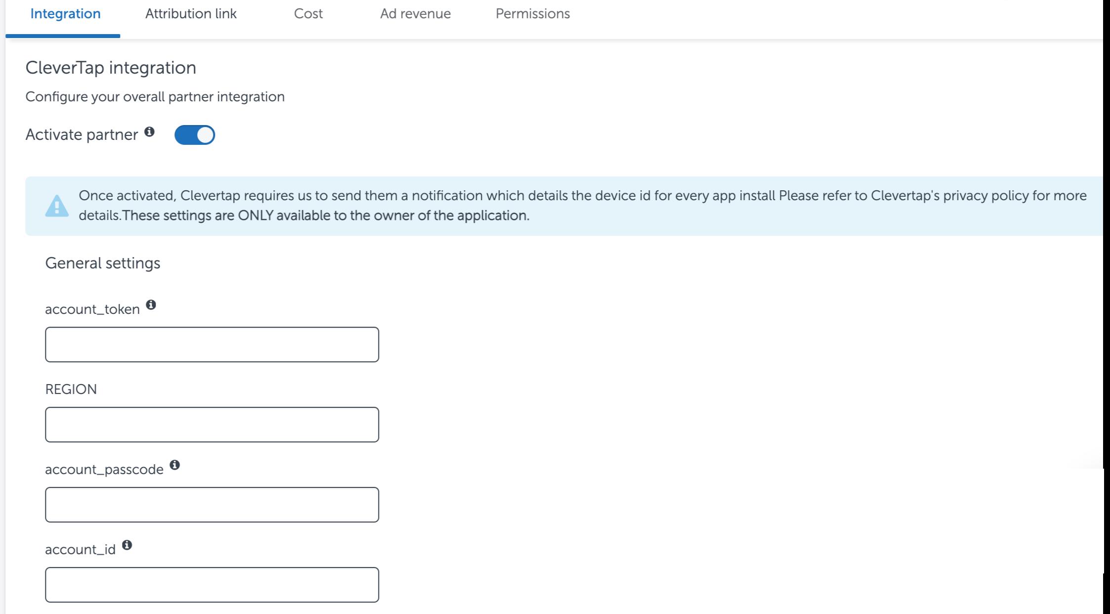AppsFlyer Dashboard
