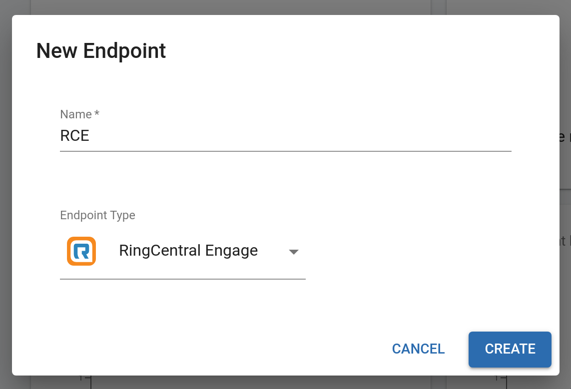 Creating a RingCentral Engage Endpoint