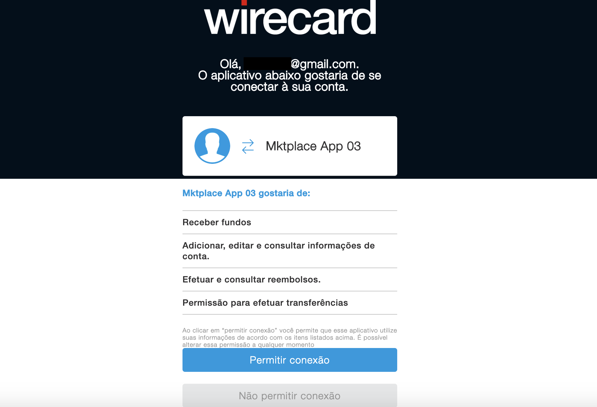 Developer Center Wirecard