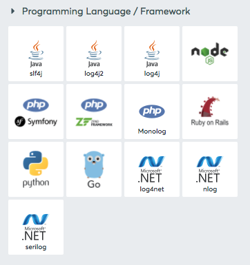 Programming Language / Framework integrations